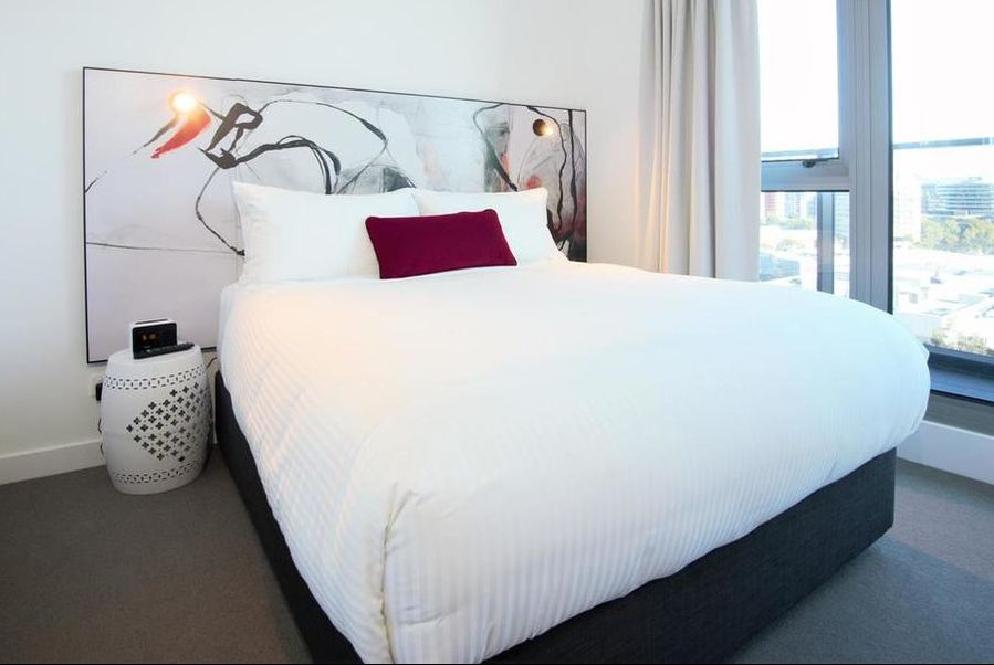 2-bedroom Junior Sky Apartments at Imagine Marco Hotel in Southbank, Australia