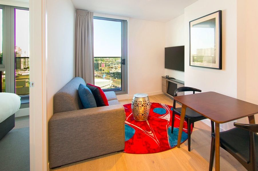 2-bedroom Junior Apartments at Imagine Marco Hotel in Southbank, Australia