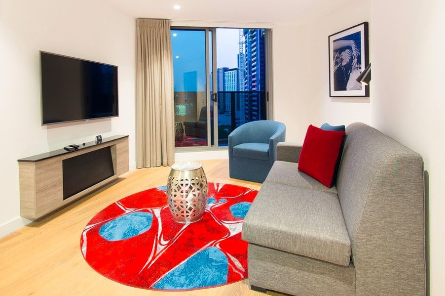 One-bedroom apartment at Imagine Marco Hotel in Southbank, Australia